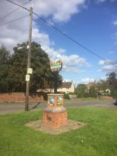 Have you seen how great the renovated Village Sign looks?